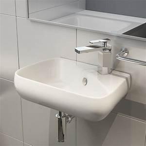 Bemalte Keramik Waschbecken : keramik aufsatzbecken waschbecken tisch waschschale wandmontage g ste wc h91 ebay ~ Markanthonyermac.com Haus und Dekorationen