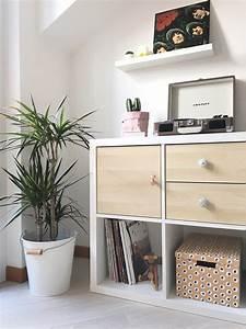 Ikea Körbe Kallax : diy how i customized my ikea kallax shelving unit with doors knobs nursery pinterest ~ Markanthonyermac.com Haus und Dekorationen