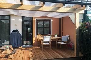 überdachte Terrasse Bauen : berdachung hauseing nge terrassen swimmingpools holzlagerpl tze berg nge zum carport ~ Markanthonyermac.com Haus und Dekorationen