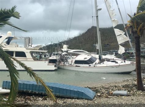 Boat Mooring Airlie Beach by Yachts Damaged And Sunk As The Whitsundays Bears The Brunt