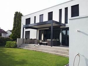 Terrassenüberdachung Aus Stoff : berdachung terrasse modern haloring ~ Markanthonyermac.com Haus und Dekorationen