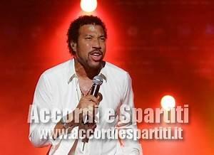 ALL NIGHT LONG - Lionel Richie | Accordi e Spartiti