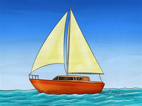 Small Boat Voyages Youtube by Drawn Sailing Boat Pencil And In Color Drawn Sailing Boat
