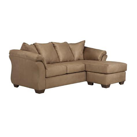 Ashley Darcy Sofa Chaise In Mocha 7500218