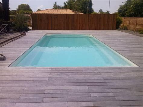terrasses en bois exotique ipe grise pour contour de piscine terrasses en bois am 233 nagement