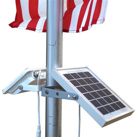 Solar Power Flag Pole Light Malaysia, Indonesia