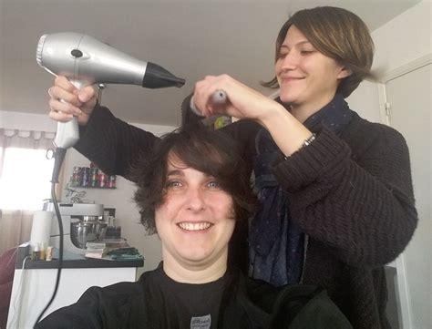coiffure a domicile avec un cap 28 images angelique