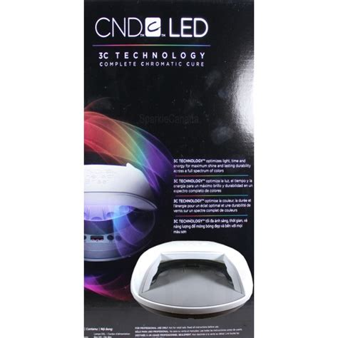 cnd shellac led 3c technology l by cnd shellac 12 1746 sparkle canada one nail place