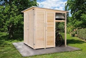 Gerätehaus Holz Klein : pultdach gartenhaus mit stauraumkonzept garten q gmbh ~ Markanthonyermac.com Haus und Dekorationen