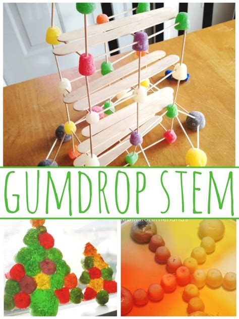 Gumdrop Christmas Tree Stem by Christmas Candy Stem Challenge Design A Chimney For Santa