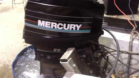 Mercury Outboard Motor Video by Mercury 25hp Outboard Motor Youtube