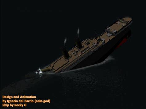 Titanic Sinking Animation 3d by Titanic Sinking Animation Image Coin God Mod Db