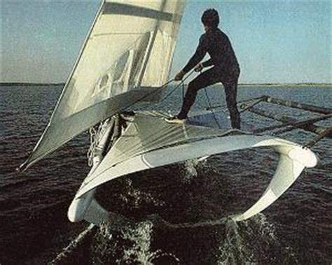 Pedal Catamaran Hydrofoil by Mr Smith S Amazing Sailboats Seaflier