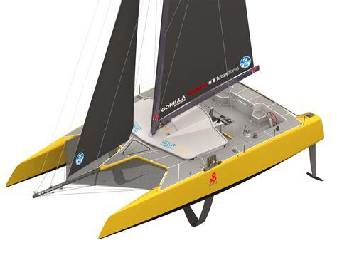 Gunboat Foiling Catamaran by Forty Six Foot Foiling Catamaran Heads To Usa