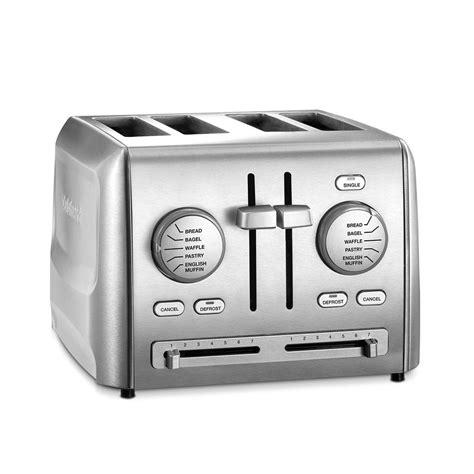 Cuisinart 4slice Stainless Steel Custom Select Toaster