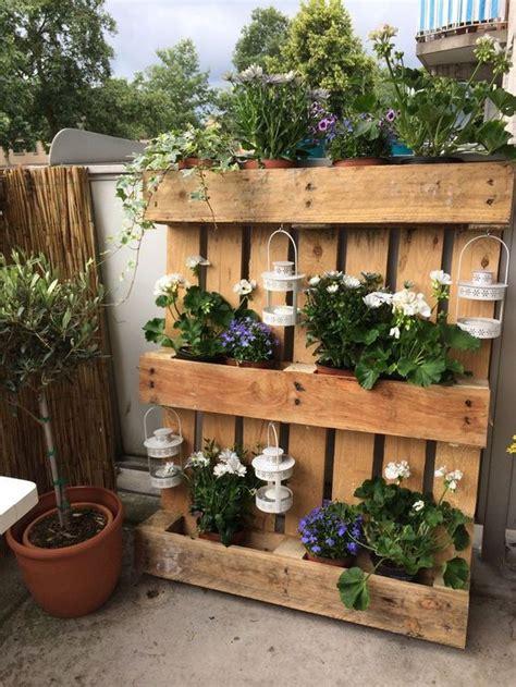 Der Palettengarten  Super Einfache Und Stilvolle Ideen
