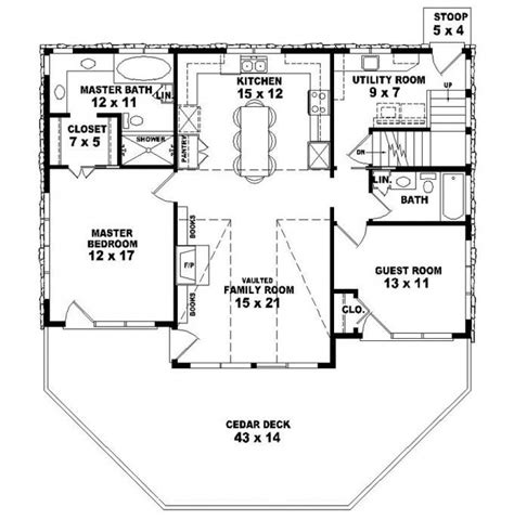 style house plan 3 beds 2 baths 2630 sq ft plan 25 best ideas about 2 bedroom house plans on