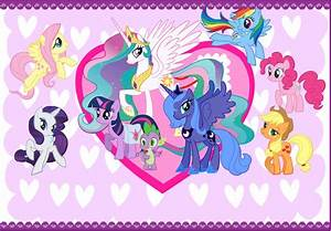 My Little Pony Valentines Card by CurruptedCynder on ...