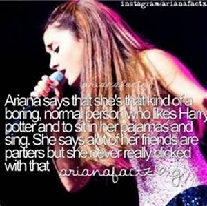 1000+ images about Ariana Grande Facts on Pinterest ...