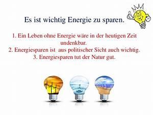 Wie Kann Man Energie Sparen : energie sparen ~ Markanthonyermac.com Haus und Dekorationen