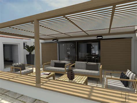 3d terrasse pergola l accessoire du rangement sur l organisation mais pas seulement