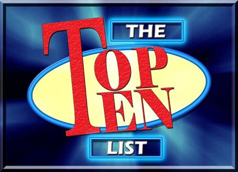 Evn's Top Ten List On Election Security  Election Academy