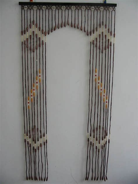 wood and bamboo beaded door arch curtain buy bamboo arch curtain bamboo bead curtain arch