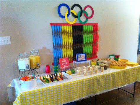 8 Best Olympic Themed Food Images On Pinterest Olympic