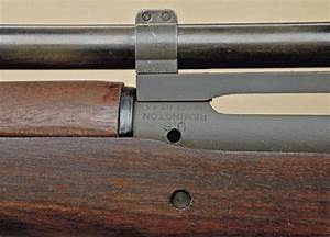 Springfield model 1903A4 sniper rifle by Remington, serial ...