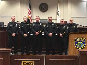 Alton Police Department promotes several officers ...