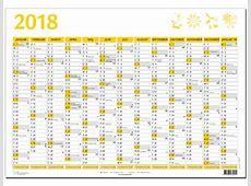 Kalender 2018 med uger 2018 Calendar printable for Free