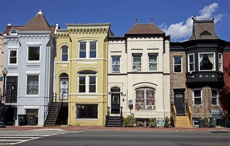 Row Houses, Florida Ave And 5th St, Nw, Washington, Dc