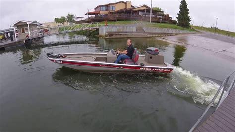 Bass Tracker Boat Videos by Bass Tracker Jet Boat 175hp Water Test 1 3 Morse Youtube