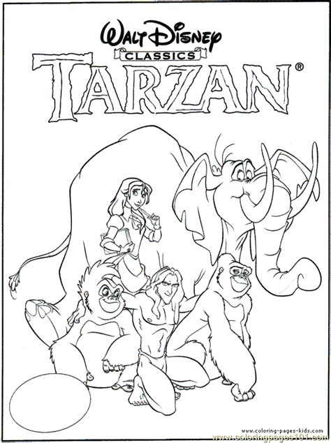 Halloween Colouring Books For Adults by Tarzan Coloring Pages