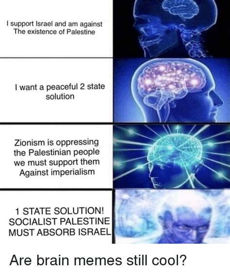 I Support Israel And Am Against The Existence Of Palestine