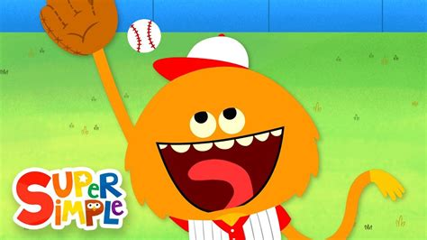 Take Me Out To The Ball Game  Kids Songs  Super Simple Songs Youtube