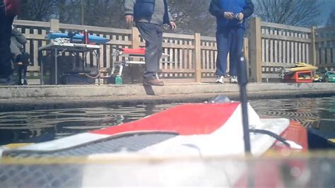 Boat R Camera by Rc Rescue Boat On Board Camera Youtube