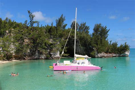 Catamaran In Bermuda by Restless Native Catamaran Bermuda Snorkel Excursions