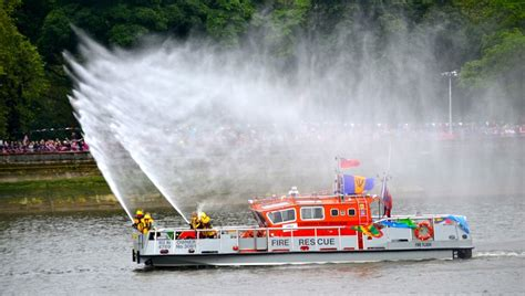 Used Fire Boat For Sale by Fire Boats London Fire Brigade