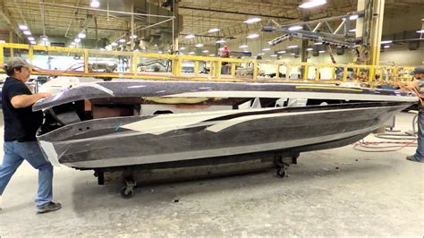 Triton Deep V Boats For Sale by Placing The Top Cap On A Hull In The Ranger Boat Factory