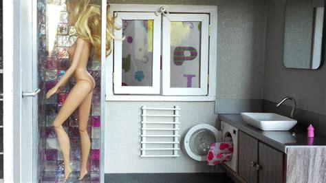 fabriquer une salle de bain pour maison de poup 233 e avec lave linge magicmanu