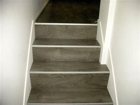 escalier en parquet nez de marche pour parquet et sol stratifi 233 un nouvel escalier ou r 233 nover