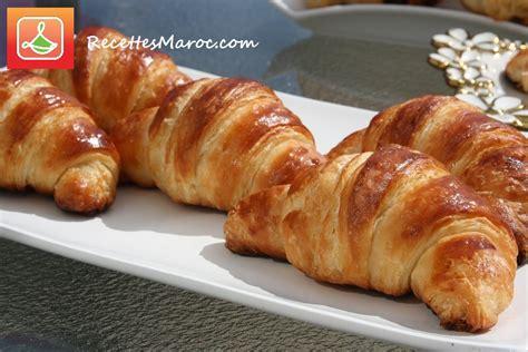 recette croissants maison recettes maroc