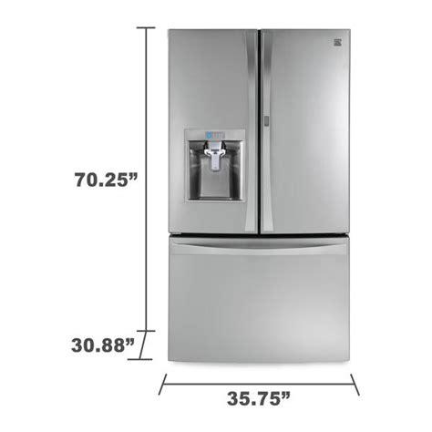 kenmore elite 23 5 cu ft counter depth bottom freezer
