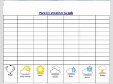 Best Photos of Weather Chart To Print Weather Graphs