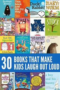30 of the Funniest Picture Books for Kids