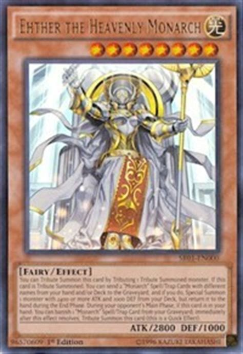 Yugioh Monarch Structure Deck by Ehther The Heavenly Monarch Structure Deck Emperor Of