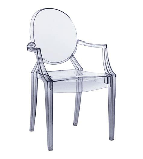chaise transparente starck