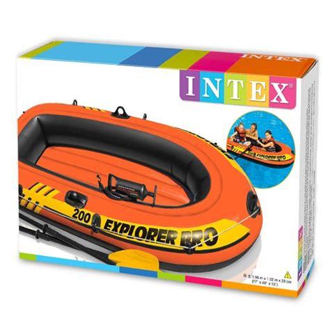 Opblaasboot Explorer 200 by Intex Explorer Pro 200 Boat Set Inflatable