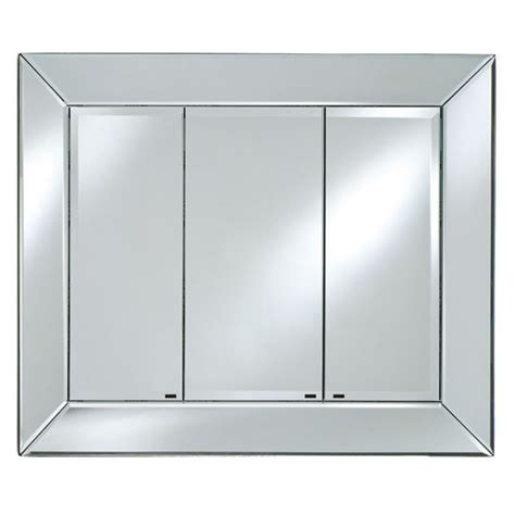 the radiance venetian mirrored medcine cabinet with doors enclosed shelving by afina